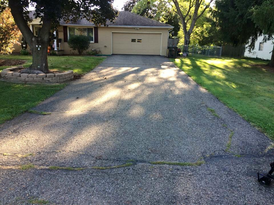 driveway seal coating before