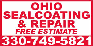 Ohio Seal Coating - Asphalt Repair Services